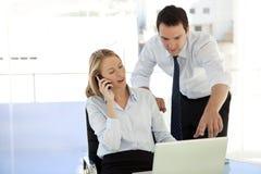 Equipe dos diretores empresariais Imagem de Stock