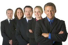 Equipe dos executivos Foto de Stock