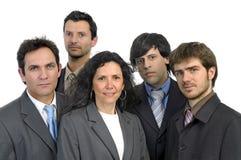 Equipe dos homens de negócios fotografia de stock