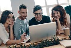 Equipe dos inovadores imagem de stock