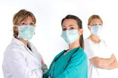 Equipe dos profissionais dos cuidados médicos Foto de Stock