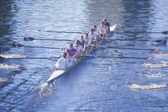 Equipe dos Rowers Fotografia de Stock Royalty Free
