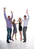Equipe dos vencedores Fotografia de Stock Royalty Free