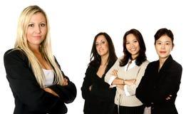 Equipe e ligação diversas do negócio Fotografia de Stock Royalty Free