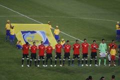 Equipe egípcia - FIFA U20 Worldcup Fotos de Stock Royalty Free