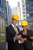Equipe executiva da construção Imagem de Stock Royalty Free