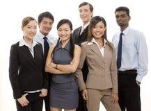 Equipe feliz 2 do negócio Fotos de Stock