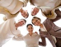 Equipe feliz Imagens de Stock
