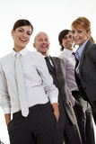 Equipe feliz do negócio Fotografia de Stock Royalty Free