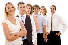 Equipe feliz do negócio Foto de Stock Royalty Free