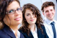 Equipe feliz do negócio Foto de Stock