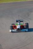 Equipe ForceIndia F1, Adrian Sutil, 2011 Imagens de Stock