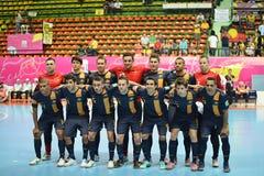 Equipe futsal nacional de Austraria Fotos de Stock