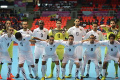 Equipe futsal nacional de Líbia Imagens de Stock Royalty Free