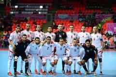 Equipe futsal nacional de Panamá Imagem de Stock Royalty Free