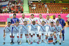 Equipe futsal nacional de Rússia Imagens de Stock