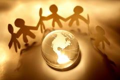 Equipe global Imagens de Stock Royalty Free