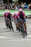 Equipe Lampre - Merida Tour de France 2015 Royalty Free Stock Image