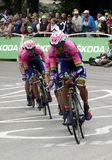 Equipe Lampre - Merida Tour de France 2015 Royalty Free Stock Images