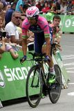 Equipe Lampre - Merida Tour de France 2015 Royalty Free Stock Photography