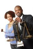 Equipe legal Imagens de Stock Royalty Free