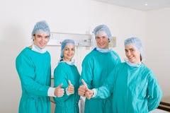 Equipe médica da equipe de funcionários Fotos de Stock Royalty Free