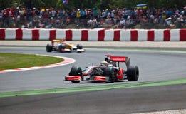 Equipe McLaren Imagens de Stock