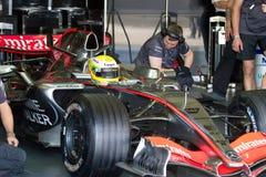 Equipe McLaren F1, Lewis Hamilton, 2006 Fotos de Stock