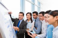 equipe Multi-étnica do negócio Imagens de Stock Royalty Free