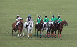 Equipe nacional do polo de Nigéria Fotografia de Stock