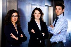 Equipe nova bem sucedida do negócio Fotografia de Stock