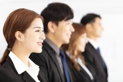 equipe nova bem sucedida do negócio no escritório Fotos de Stock Royalty Free