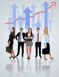 Equipe nova do negócio Fotos de Stock Royalty Free