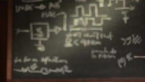 Equipe o pensamento, o estudo e a geração de ideias novas vídeos de arquivo