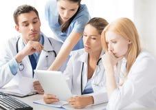 Equipe ou grupo de trabalho dos doutores Fotos de Stock Royalty Free