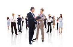 Equipe ou grupo do negócio em Fotos de Stock Royalty Free