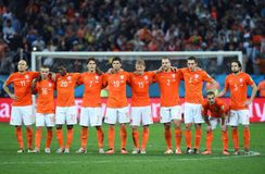 Equipe Pays Bas Coupe du monde 2014 Royalty Free Stock Photography