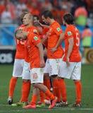 Equipe Pays Bas Coupe du monde 2014 Stock Images
