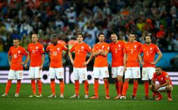 Equipe Pays Bas Coupe du monde 2014 Royalty Free Stock Photo