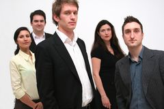 Equipe - pessoa do negócio 5 Imagem de Stock