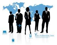 Equipe profissional -- Molde B do negócio corporativo Imagem de Stock