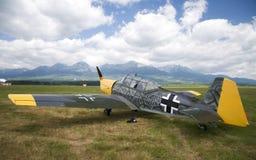 Equipe retro do céu - demonstração no airshow Imagens de Stock Royalty Free