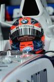 Equipe Robert Kubica F1.07 Poland Sepa de BMW Sauber F1 Imagem de Stock
