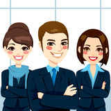 Equipe segura do negócio Imagens de Stock Royalty Free