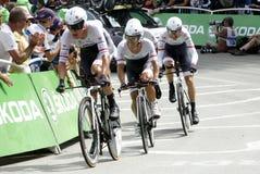 Equipe Trek Factory Racing Tour de France 2015 Stock Photography