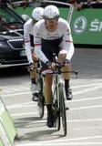 Equipe Trek Factory Racing Tour de France 2015 Royalty Free Stock Photo