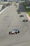 Equipes A1 que competem no início da raça de A1GP. Fotos de Stock Royalty Free