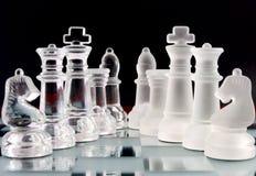 Equipes da xadrez Imagens de Stock Royalty Free