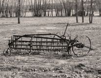 Equipmen agricole antique images stock