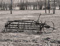 Equipmen d'agricoltura antico Immagini Stock